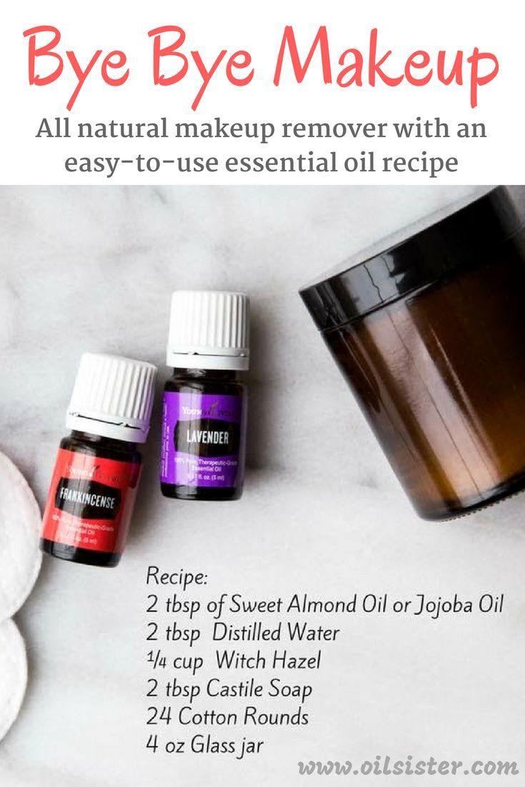 Photo of DIY Homemade Makeup Remover with Essential Oils