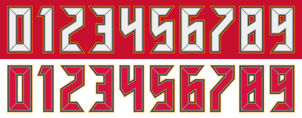 Bucsnumbers Png Tampa Bay Buccaneers Buccaneers Logos
