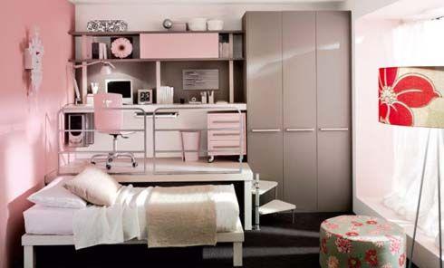 Diseños de cuartos para niños y jovenes en espacios pequeños ...