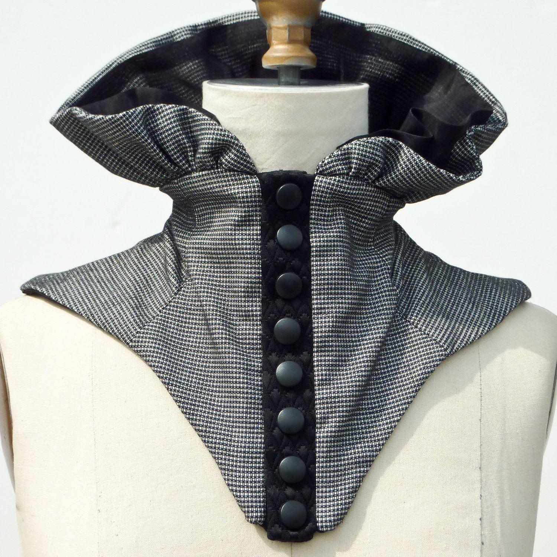 High Neck Collar Corset