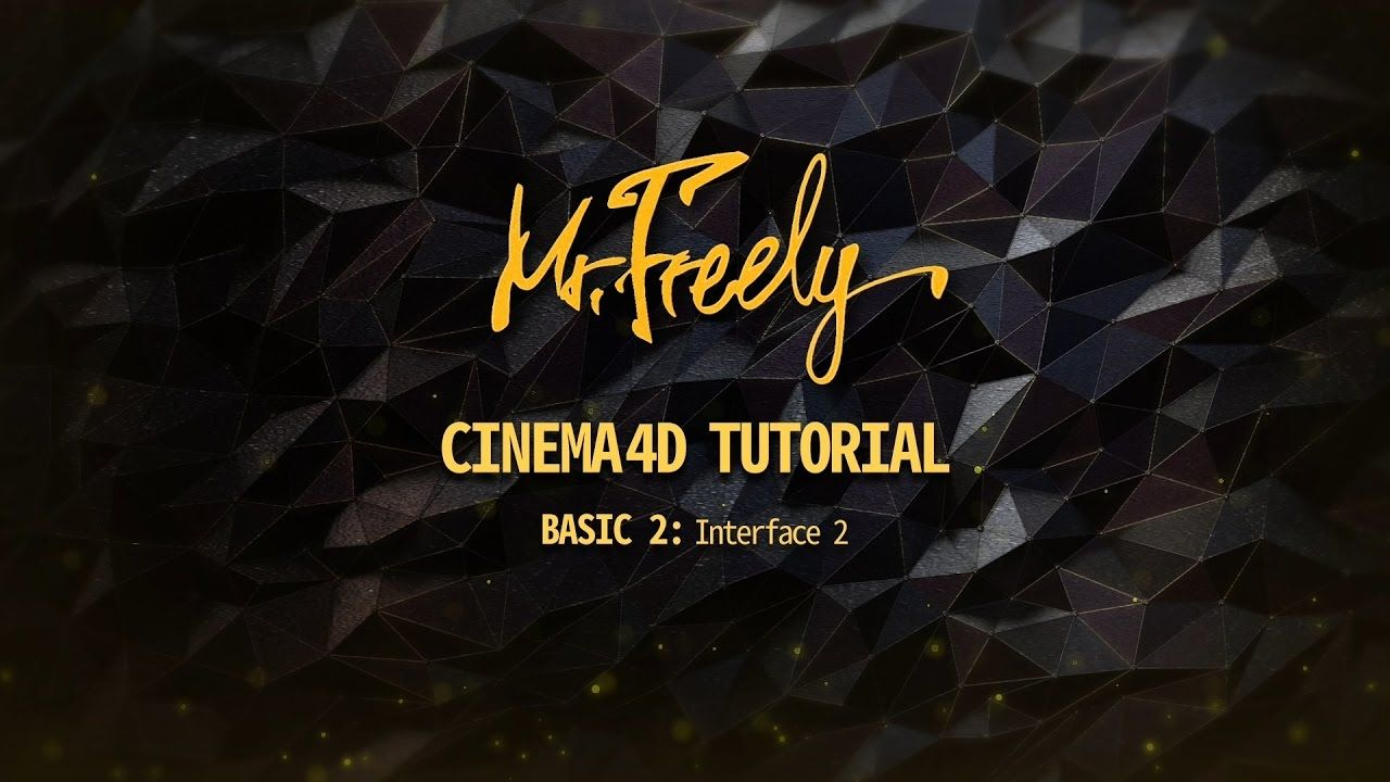 Cinema 4D tutorial_Basic2_Interface2  (시네마4D 기초강좌_2강_인터페이스 2) - YouTube