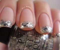 cute, glitter, nail polish, nails, shiny - inspiring picture on Favim.com