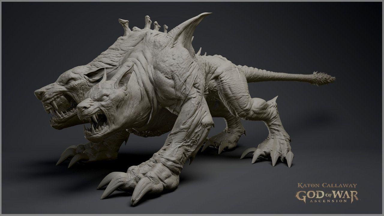 https://www.artstation.com/artwork/god-of-war-ascension-sculpts