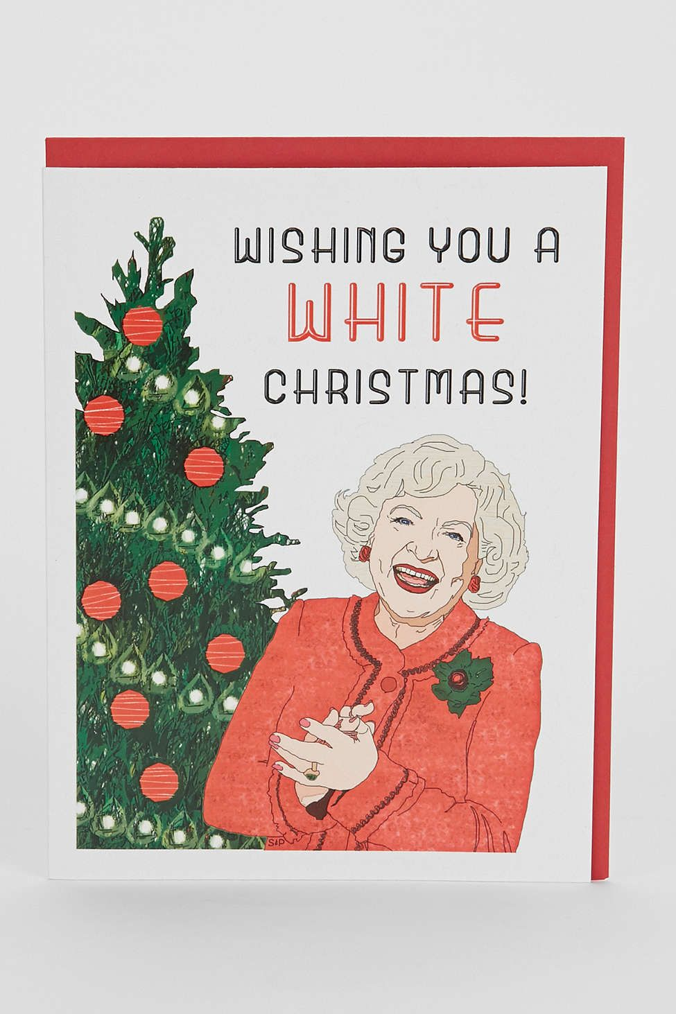 Seas And Peas Wishing You A White Christmas Card | you\'ve got mail ...