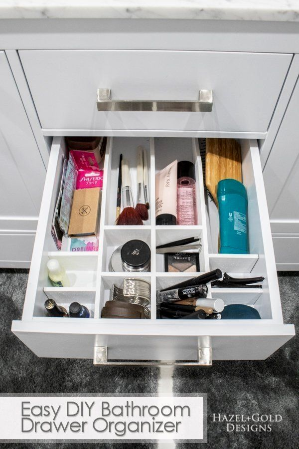 14 Diy Bathroom Organizer Ideas That's Worth Trying ...