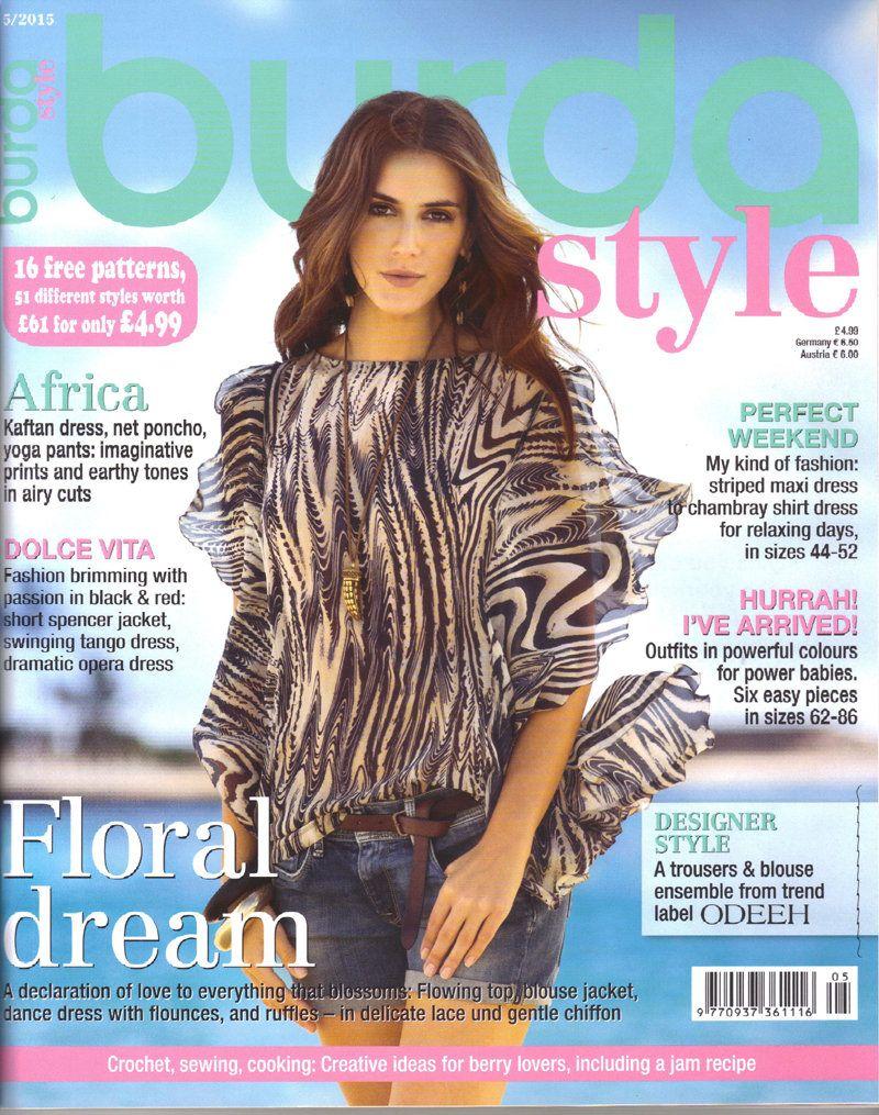 Burda style magazine 52015 english sewing patterns by burda style magazine 52015 english sewing patterns by honeyjamsuniques on etsy jeuxipadfo Image collections
