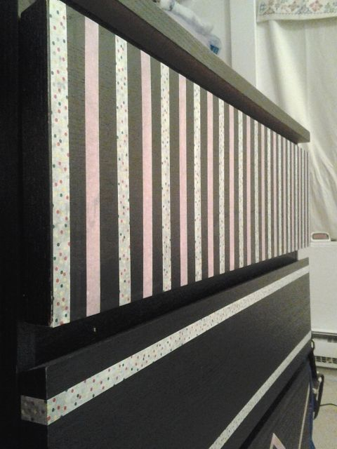 auni gelles on ikea dresser washi and washi tape. Black Bedroom Furniture Sets. Home Design Ideas