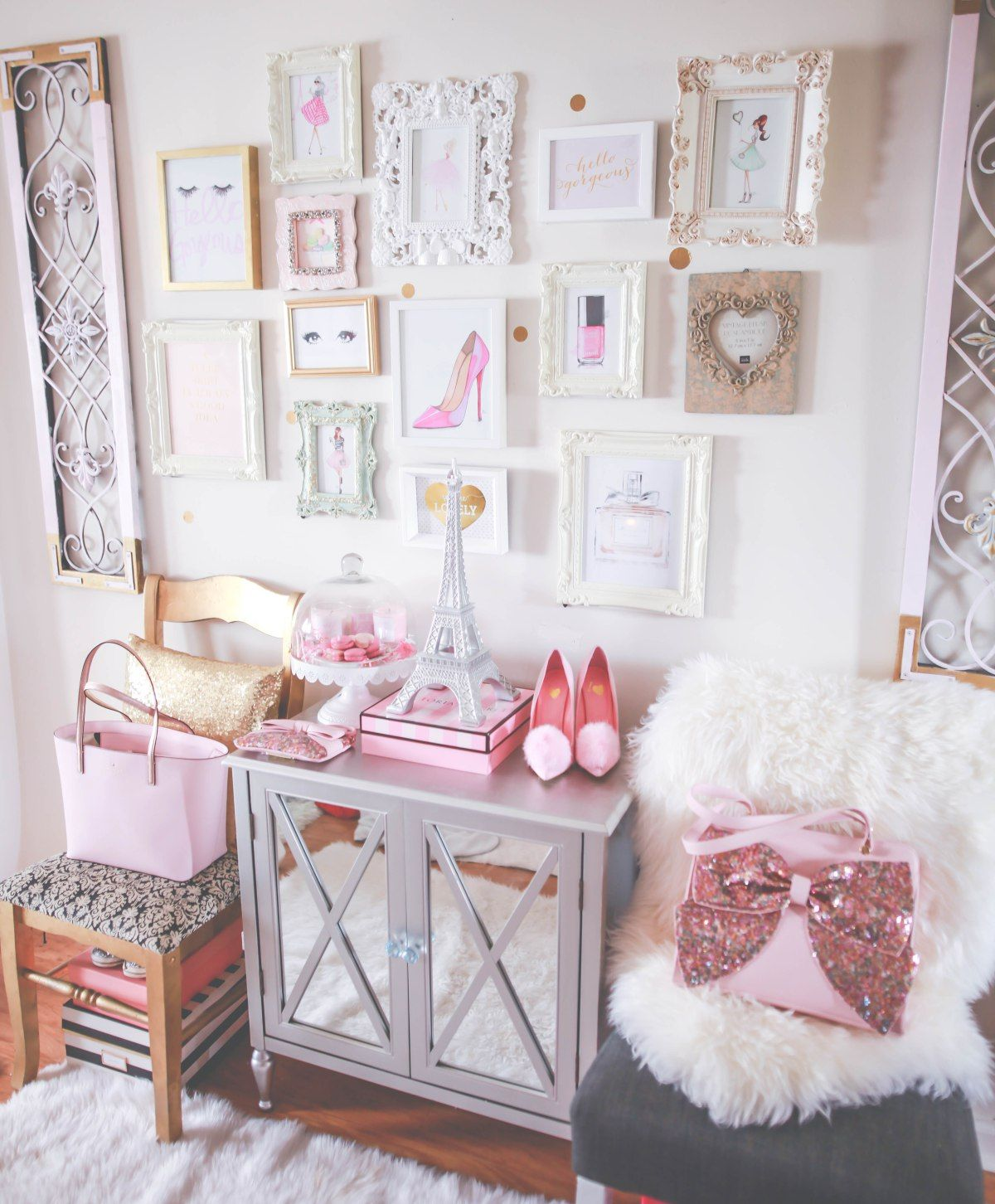 Bedroom Design Pictures Bedroom Curtains Purple Cool Bedroom Bins Bedroom Accessories List: How To Make Your Workspace Pretty & Girly