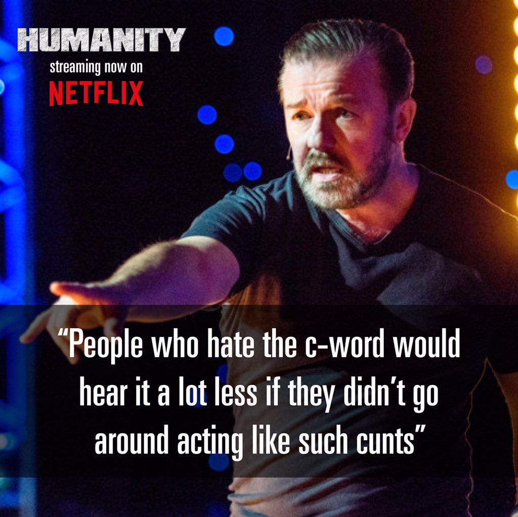 Ricky Gervais Trivia on in 2020 Funny quotes, Words
