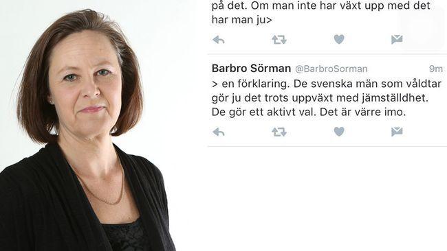 V-politiker: Värre med svenska våldtäktsmän.