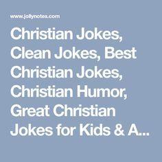 Short christian jokes for church