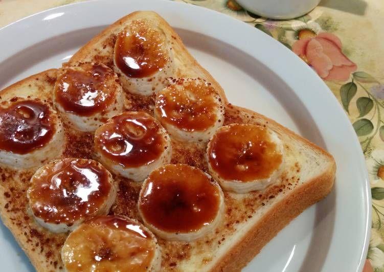 Resep Roti Pisang Panggang Karamel Oleh Akari Papa Resep Makanan Rotis Makanan Dan Minuman