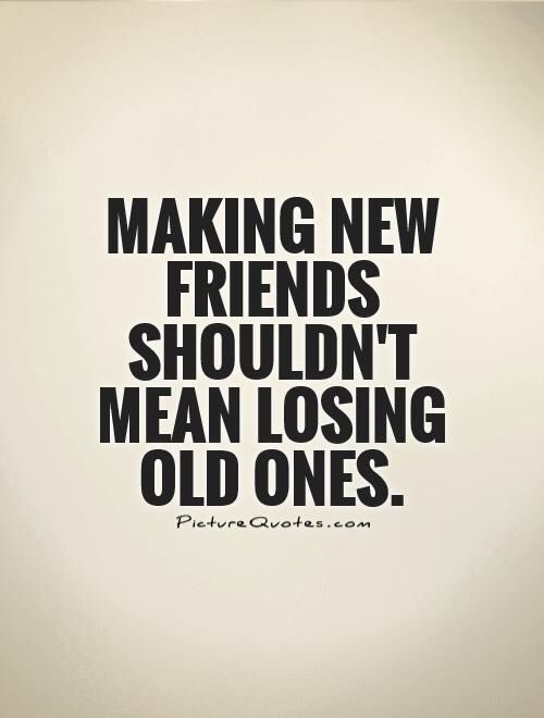 Why On Earth Would Old Friends Get Jealous Of New Ones Friends