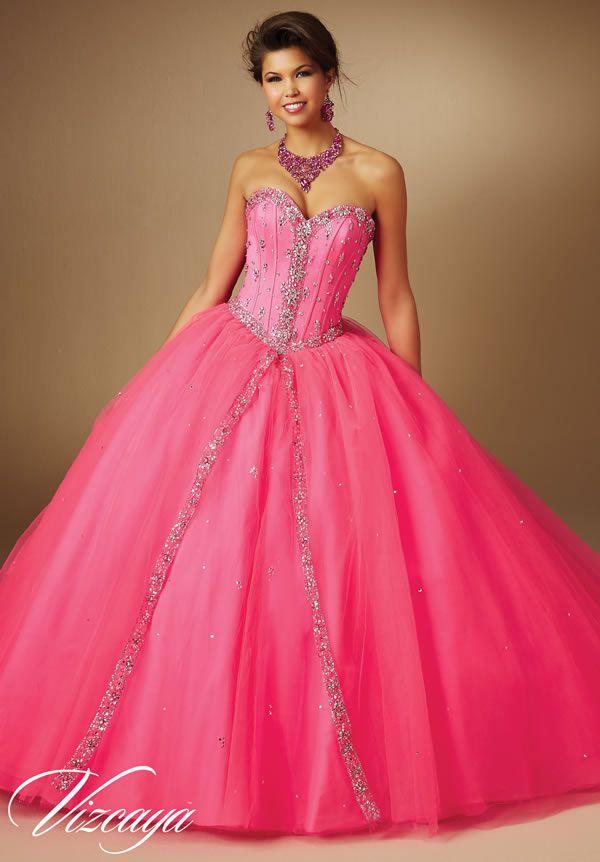 Vestidos de 15 años rosas 2015 de Mori Lee   vestidos   Pinterest ...