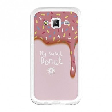 becool samsung galaxy j5 tpu h lle sweet donut cool. Black Bedroom Furniture Sets. Home Design Ideas