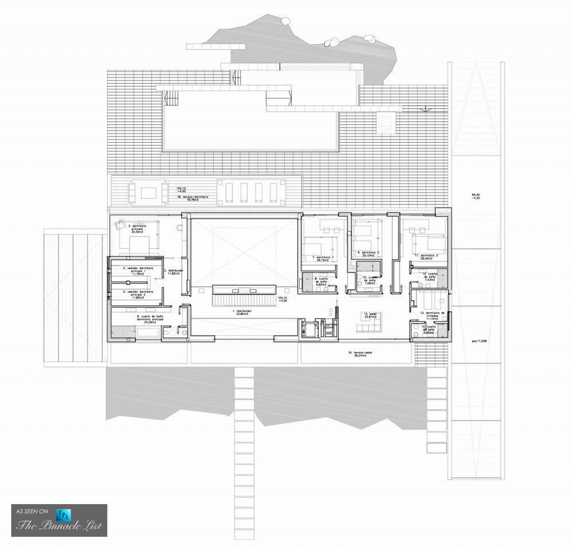 Floor Plan - Vivienda 19 Luxury Residence – Pozuelo de Alarcon ...