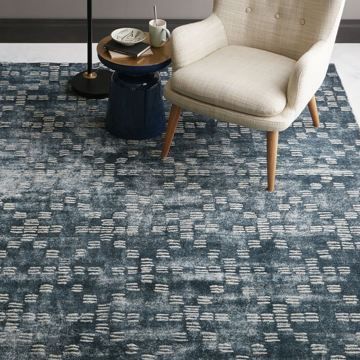Geo Tufted Wool Rug