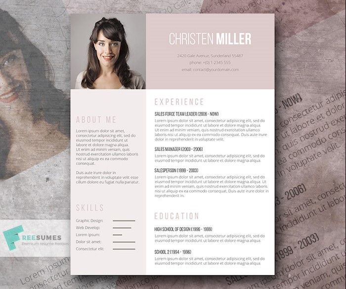 The  Best Free Resume Templates For   Cv