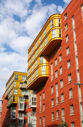 New Apartments: Eden Grove. London by Canis Major, via Flickr