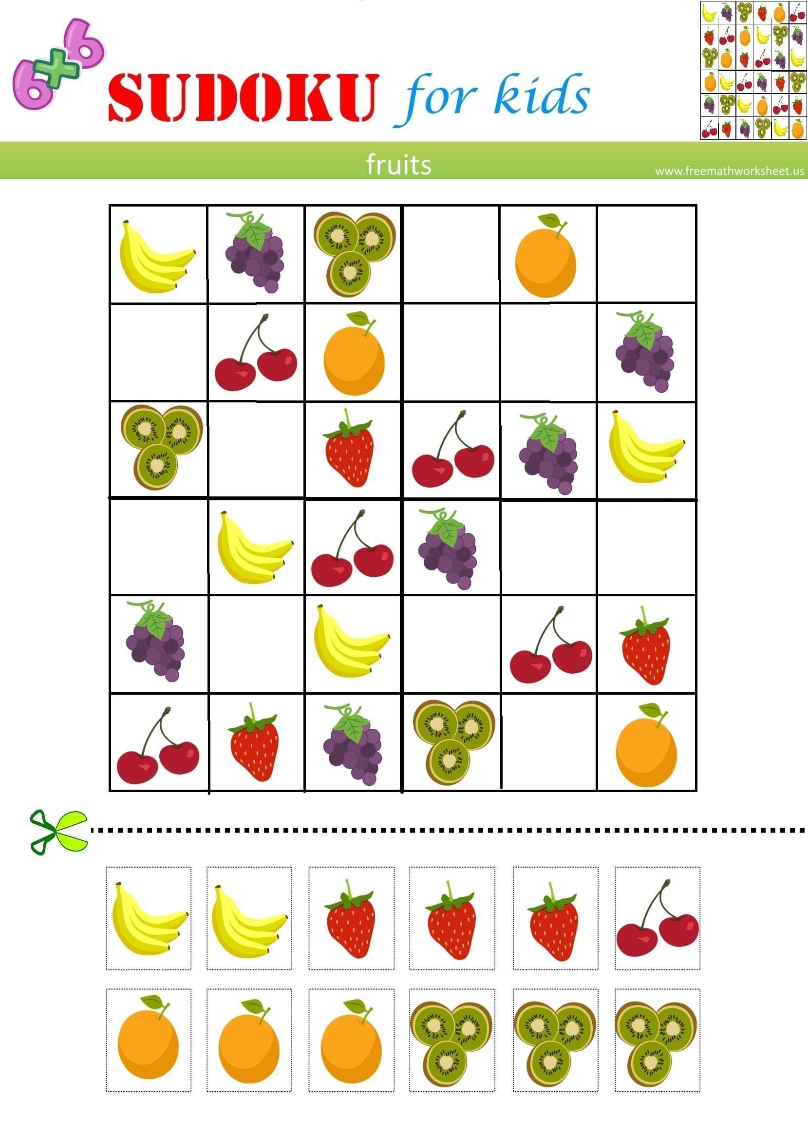 Fruits Sudoku