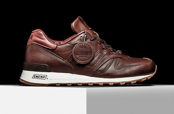 Is The New Balance 1300 Horween Worth Every Penny Kicksonfire Com Brown Leather Sneakers Sneakers Men Fashion Sneaker Dress Shoes