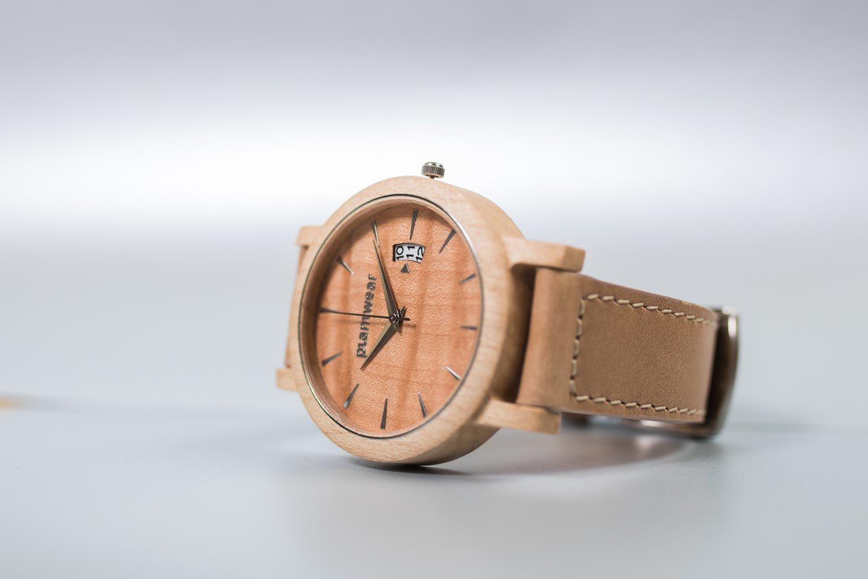 5478124204de22 Drewniany Zegarek - Seria Royal - Jawor Falisty | Drewniany zegarek seria  Royal