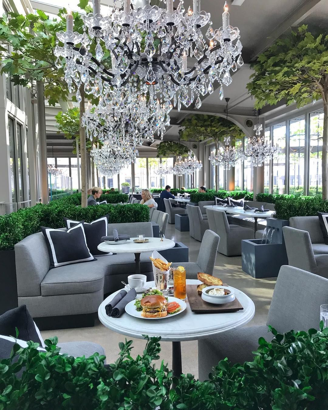 "New York Bucket List on Instagram: ""The stunning NEW rooftop restaurant & terrace at Restoration Hardware - Who wants to go?"