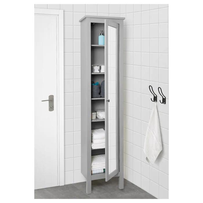 Ikea Bathroom Storage Cabinet, Tall Bathroom Cabinets Ikea