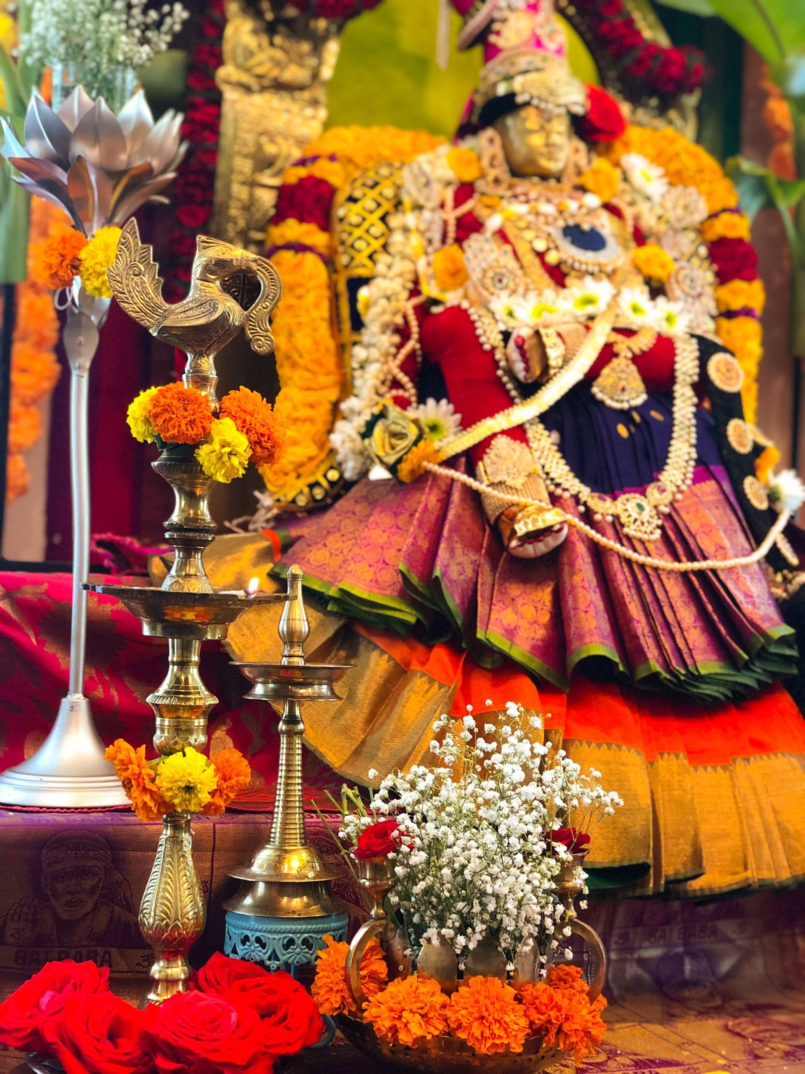 Our Varalakshmi Ammavaru 2019 Desidiy Indian Gods