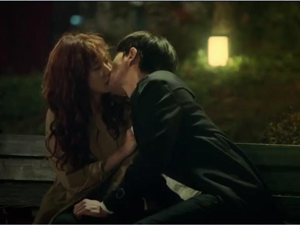 Cheese In The Trap Ep 8 First Kissing Scene