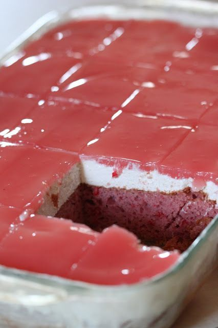 Guava Cake With Cream Cheese Layer And Glaze Slightly Adapted From The Polynesian