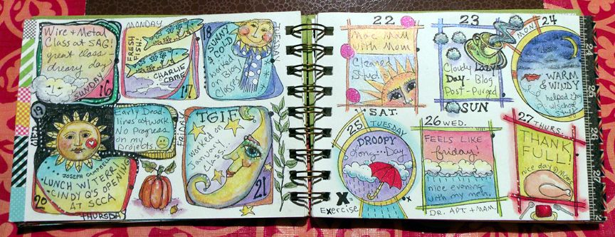 no excuses art journaling - Google Search