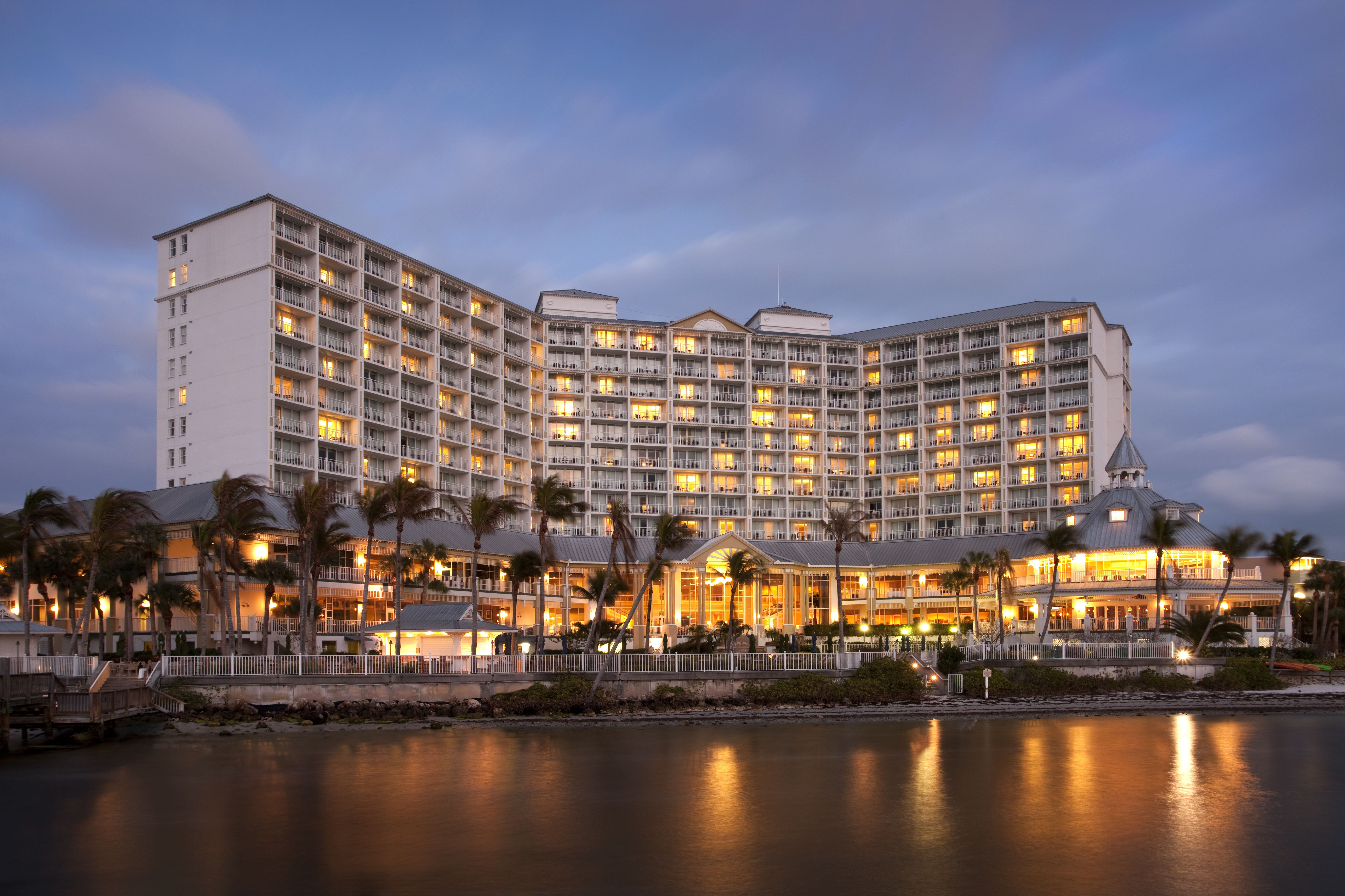 As Sanibel Harbour Marriott Resort and Spa in Fort Myers undergoes a