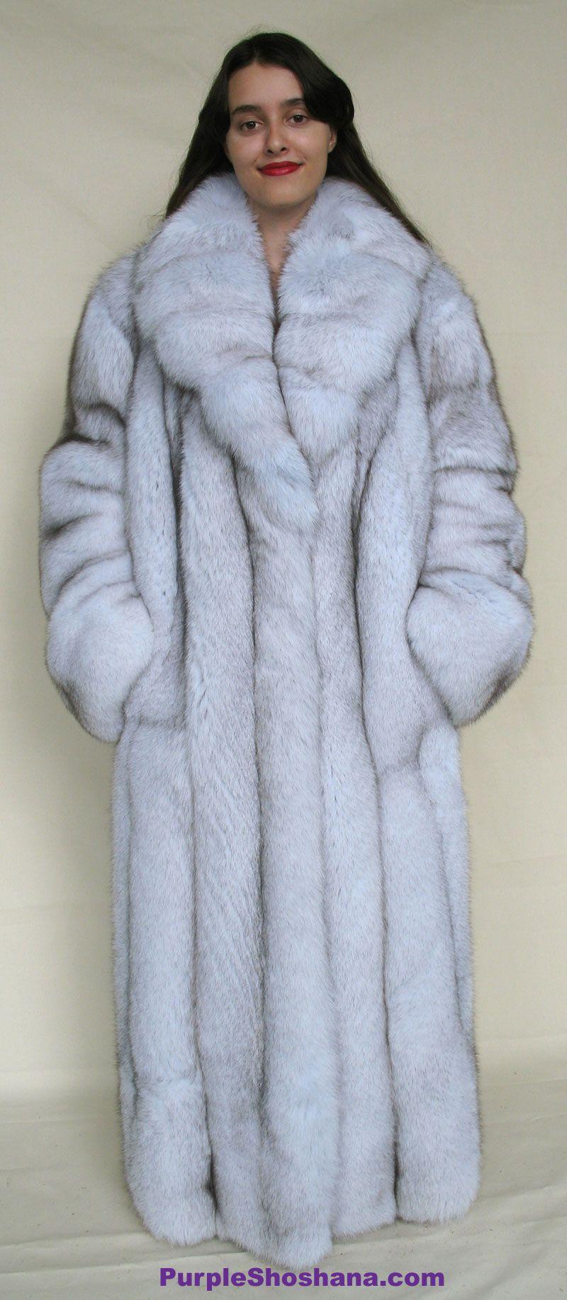 bondage Blue fox coat