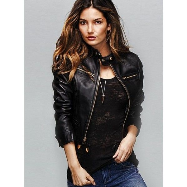 leather jacket for girls - Google Search | Bad Girl | Pinterest ...