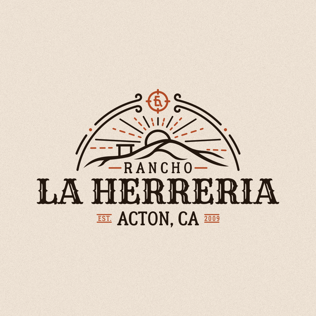 "Vintageinspired Logo for a Ranch named ""Rancho La"