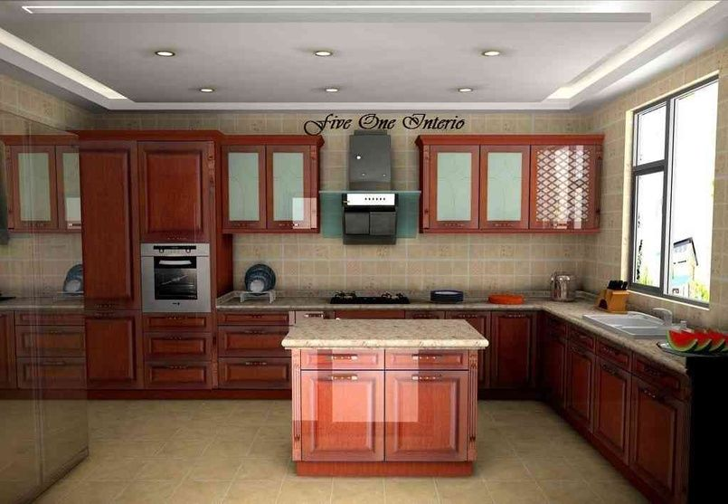 Large Kitchen with Granite counter top, design by Yogita Singh ...