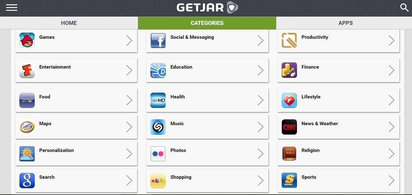 Getjar Download Getjar For Best Android Apps And Games App
