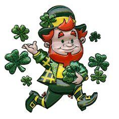 St Patricks Day On St Patrick Cliparts Clipartix St Patricks Day Pictures St Patricks Day Clipart Cartoon Clip Art