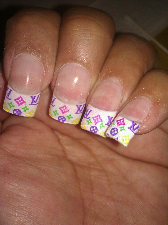 nails Louis Vuitton Nail Designs | Louis Vuitton | Pinterest | Louis ...
