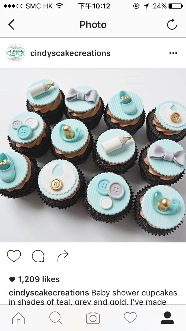 b Cupcakes Baby Shower Niño e9649918f96