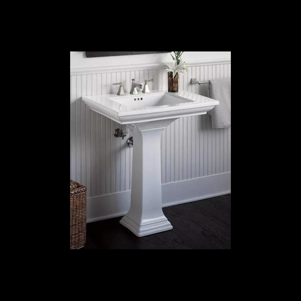 kohler k2268847 memoirs pedestal lavatory  build