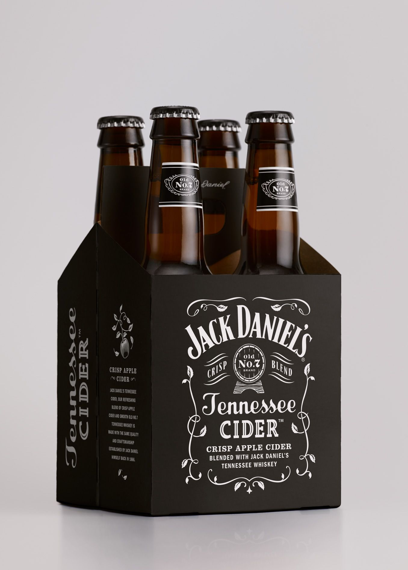 Jack Daniel's Tennessee Cider is Here Just in Time For Summer — The Dieline | Packaging & Branding Design & Innovation News