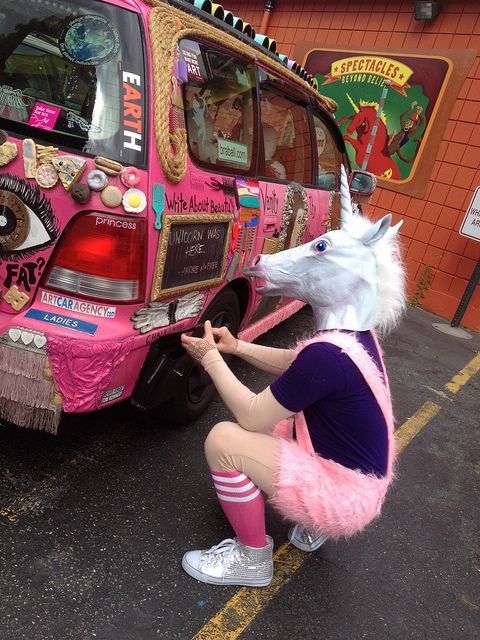 The Korduroys Searching For Their Lost Secret Unicorn in Seattle