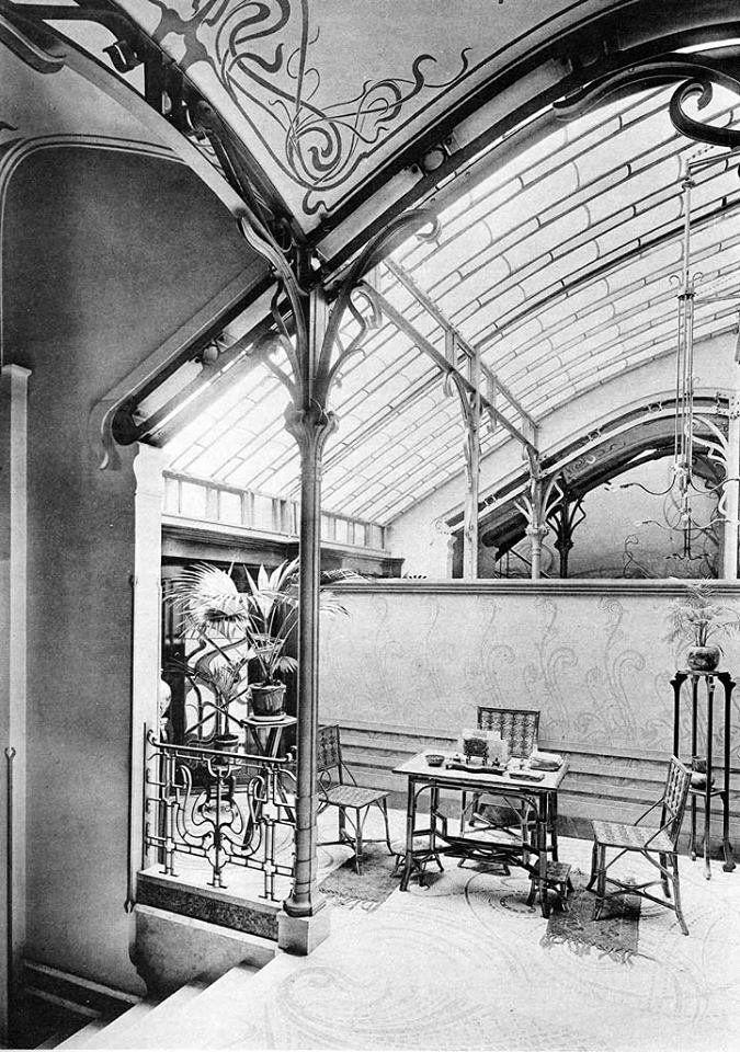 Victor Horta Hotel Tassel the winter garden