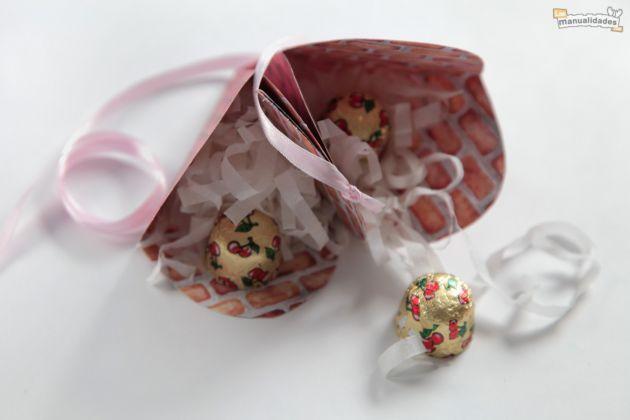 Caja para regalar en San Valentín - Las Manualidades Día de San