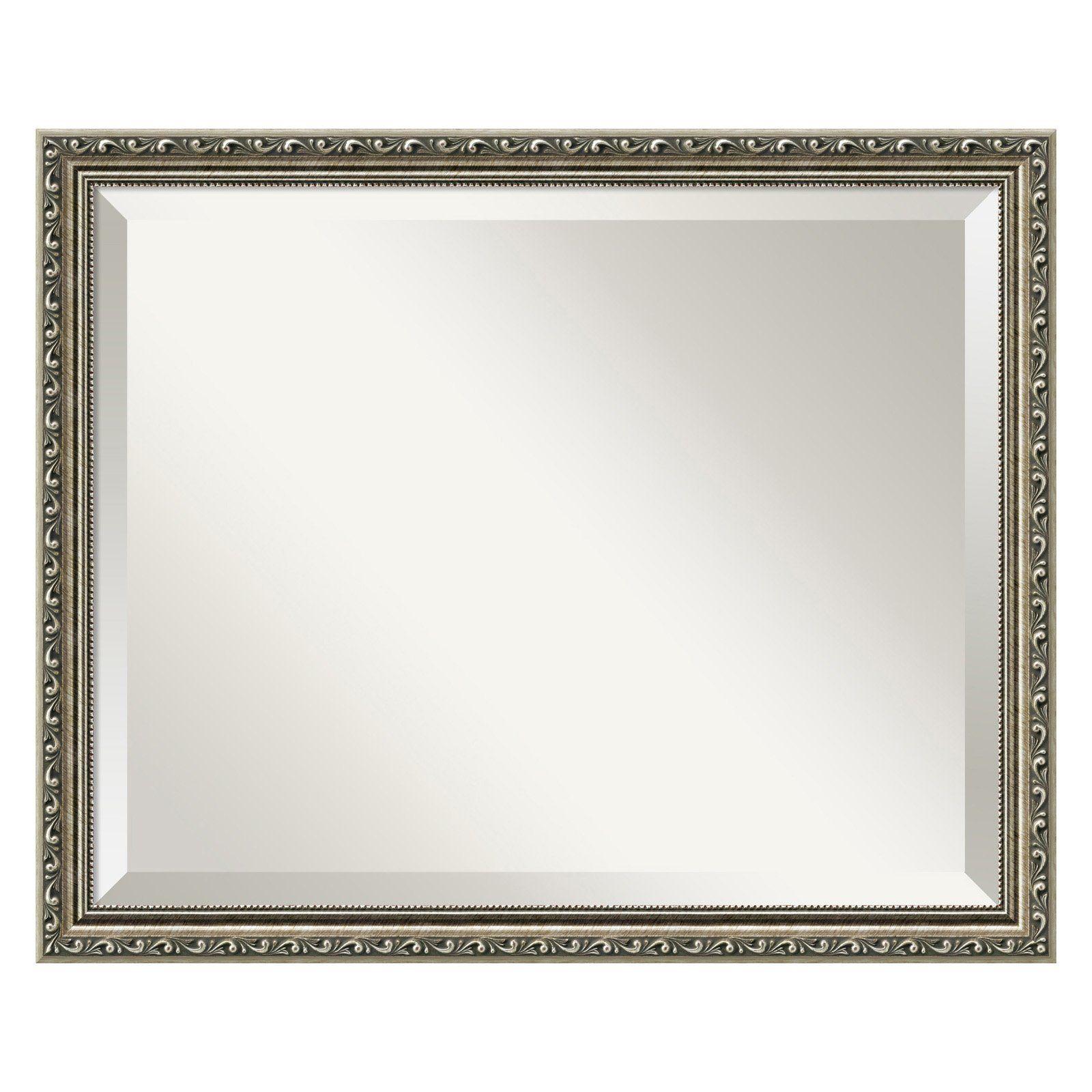 Have to have it. Parisian Silver Wall Mirror - 22W x 18H in. - $109.95 @hayneedle.com