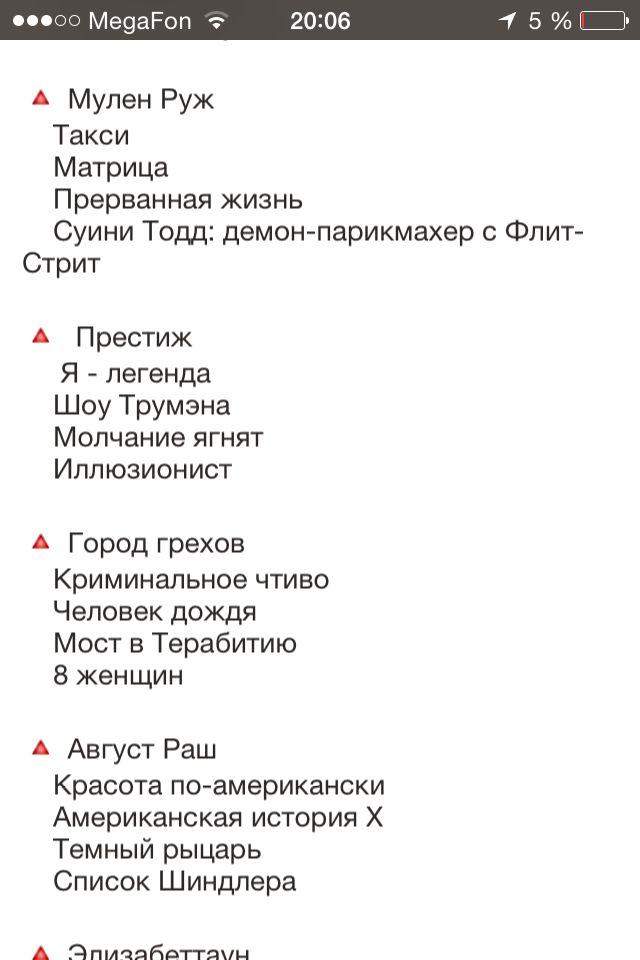 100 Luchshih Filmov Za Istoriyu Kino 3 Film