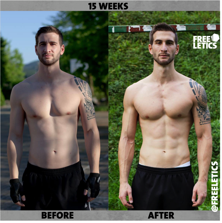 15 week transformation workouts with freeletics cardio and strength rh pinterest com