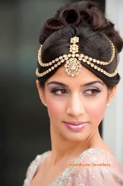 Kundan Hair Accessories Indian Wedding Jewelry Indian Wedding